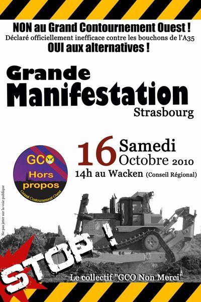 La manifestation d'octobre